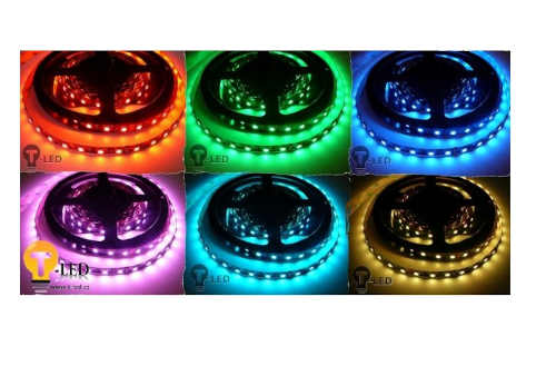 praktický LED pásek do interiéru