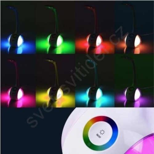 stmívatelná lampa v moderním designu