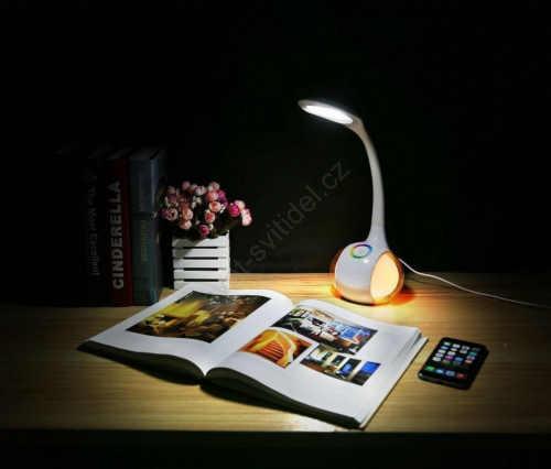 stmívatelná stolní LED lampa