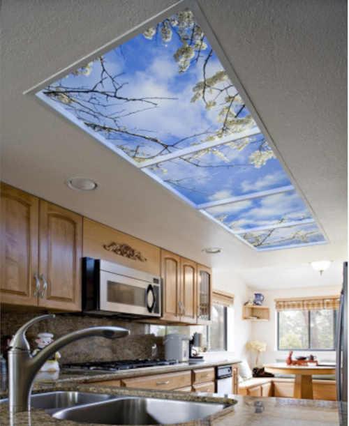 světelný panel do interiéru